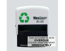 Account Overdue SI-20 Stock Rubber Stamp