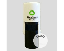 Checked SI-C12 Stock Rubber Stamp