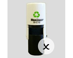 Cross SI-C12 Stock Rubber Stamp