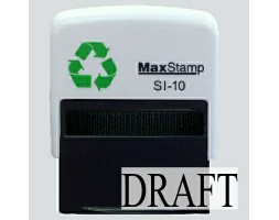 Draft SI-10 Stock Rubber Stamp