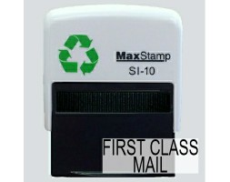 First Class Mail SI-10 Stock Rubber Stamp