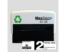 Maxstamp SI-25 Royal Mail PPI Rubber Stamp - 2nd Class