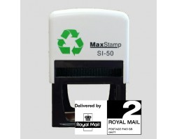 Maxstamp SI-50 Royal Mail PPI Rubber Stamp - 2nd Class